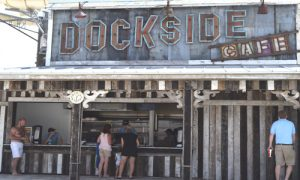 Dockside Cafe at Breakwater Beach